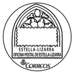 Matasellos turístico Estela-Lizarra