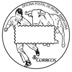 Matasellos turístico Iruña-Pamplona