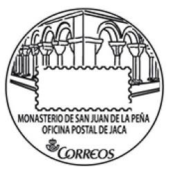 Matasellos turístico monasterio Jaca
