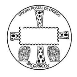 Matasellos turístico Oviedo
