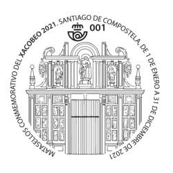 Matasellos Xacobeo 2021-2022
