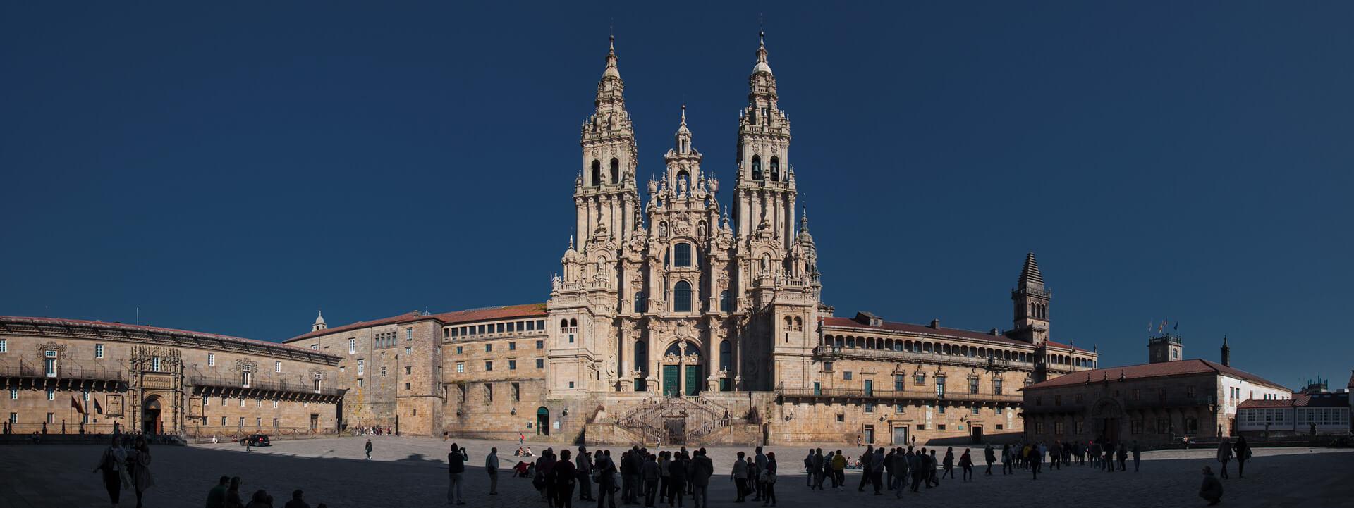 Catedral de Santiago, fin del Camino de Santiago